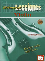 First Lessons Violin, Spanish Edition Book/CD Set - Dr Craig Duncan