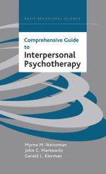 Comprehensive Guide To Interpersonal Psychotherapy - Myrna M. Weissman
