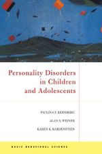 Personality Disorders In Children And Adolescents - Paulina F. Kernberg