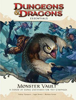 Monster Vault : An Essential Dungeons & Dragons Kit - Wizards Rpg Team