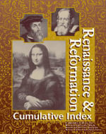 Renaissance and Reformation Reference Library - Cumulative Index - Julie L. Carnagie