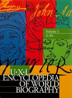 Uxl Encyclopedia of World Biography - Gale Group