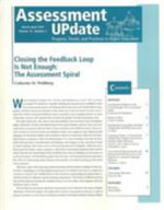 Assessment Update March-April 2007 : J-B Au Single Issueassessment Update - AU (Assessment Update)