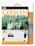 DK  Eyewitness Travel Phrase Book Pack : German (with CD) - DK Publishing