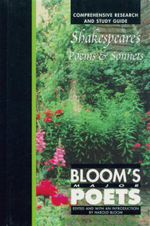 Shakespeare's Poems and Sonnets : Bloom's Major Poets