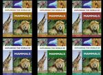 Exploring the World of Mammals, 6-Volume Set  (Six books in 1 pack)
