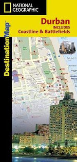 Durban : Includes Coastline & Battlefields - National Geographic Maps