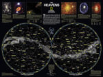 The Heavens Flat : National Geographic Guidemap for States - National Geographic Maps