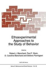 Ethoexperimental Approaches to the Study of Behavior : Proceedings
