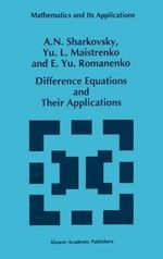 Difference Equations and Their Applications - A.N. Sharkovskii