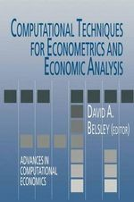 Computational Techniques for Econometrics and Economic Analysis