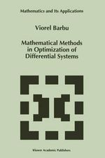 Mathematical Methods in Optimization of Differential Systems : Oxford Chemistry Primers - Viorel Barbu