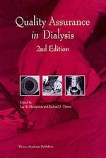 Quality Assurance in Dialysis : Developments in Nephrology