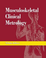 Musculoskeletal Clinical Metrology - N. Bellamy