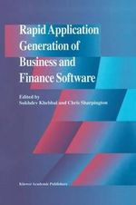 Rapid Application Generation of Business and Finance Software