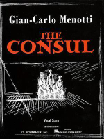 The Consul : Vocal Score - Gian Carlo Menotti