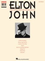 The Elton John Keyboard Book : Knowledge Representation, Learning, and Expert Systems - Sir Elton John
