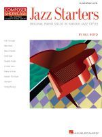 Jazz Starters : Original Piano Solos in Various Jazz Styles - Bill Boyd