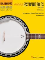 Hal Leonard Banjo Method : More Easy Banjo Solos - Will Schmid