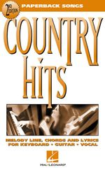 Country Hits : Paperback Songs