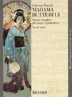 Madama Butterfly : Vocal Score - Puccini Giacomo