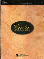 No. 9 : Carta Standard Paper - Hal Leonard Publishing Corporation