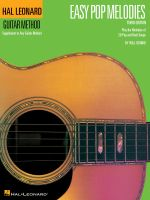 Easy Pop Melodies : Hal Leonard Guitar Method (Songbooks) - Will Schmid