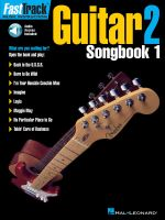 Fast Track Guitar 2 : Songbook One - Blake Neely