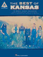 The Best of Kansas : Guitar Recorded Versions - Earl of Bradford Richard Golden, III
