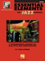 Essential Elements for Jazz Ensemble: Drums : A Comprehensive Method for Jazz Style and Improvisation  - Steinel Mike