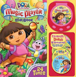 Dora the Explorer Music Player Storybook : Storybook With Music Player and 4 CDs - Christine Ricci