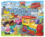 Fisher-Price Little People : Cars, Trucks, Planes, and Trains - Nancy L Rindone