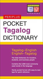 Pocket Tagalog Dictionary : Tagalog-English/English-Tagalog - Renato Perdon