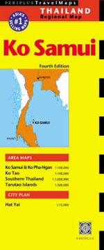 Ko Samui Travel Map : Periplus Maps - Tuttle Publishing