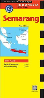 Semarang Travel Map - Periplus Editions