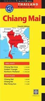 Chiang Mai Travel Map : Thailand Regional Maps - Periplus Editors