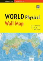 World Physical Wall Map - Periplus Editions