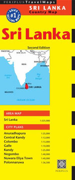 Sri Lanka Travel Map : Periplus Maps - Periplus Editions