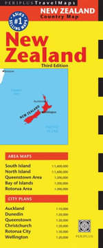 New Zealand Travel Map : Periplus Maps - Periplus Editions