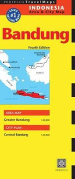 Bandung Travel Map - Periplus Editions