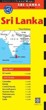 Sri Lanka Travel Map - Periplus Editors