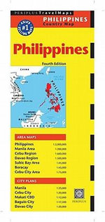 Philippines Travel Map : Periplus Maps - Periplus Editions