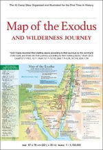 Map of Exodus : The 42 Camp Sites Organized and Illustrated for the First Time in History - Abraham Park