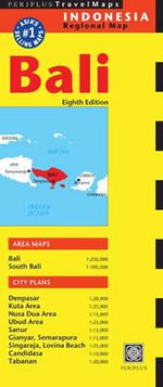 Bali Travel Map - Periplus Editions