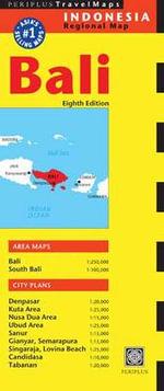 Bali Travel Map : Periplus Travel Maps - Periplus Editions