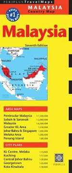 Malaysia Travel Map : Periplus Travel Maps - Periplus Editions