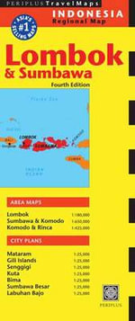 Lombok and Sumbawa Travel Map - Editors of Periplus