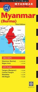 Myanmar Travel Map : Periplus Maps - Editors of Periplus