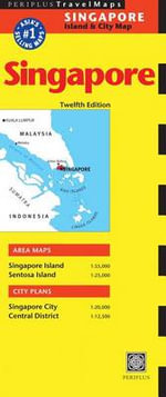 Singapore Travel Map - Periplus Editions