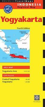 Yogyakarta Travel Map - Periplus Editions